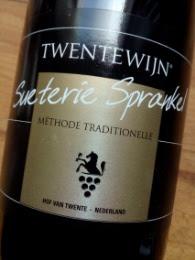 Sueterie Sprankel, Twentewijn, Méthode Traditionelle, Twente, Nederland