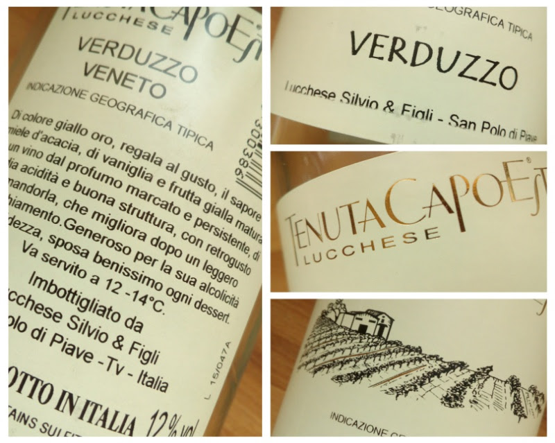 Tenuta Capoest, Verduzzo, IGP Veneto, Italië detail