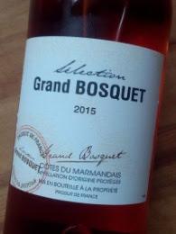 Selection Grand Bosquet 2015, Côtes du Marmandais detail