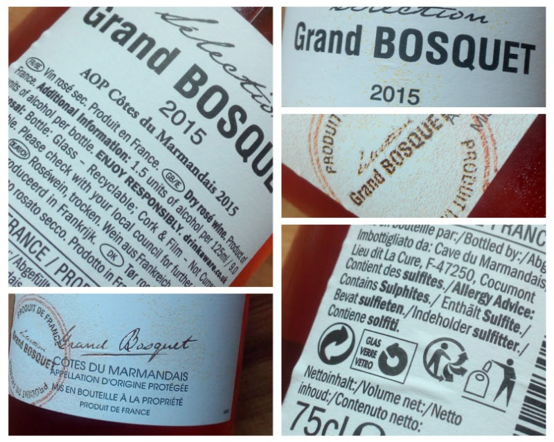 Selection Grand Bosquet 2015, Côtes du Marmandais