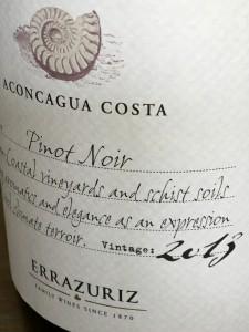 Errazuriz Pinot Noir 2013 A