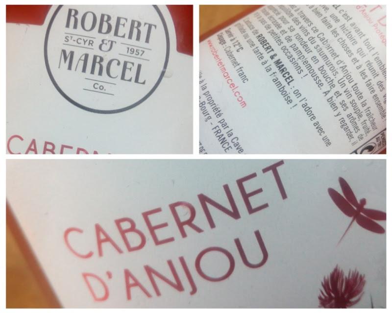 Cabernet d'Anjou 2015, AOP, Robert & Marcel, rosé, Frankrijk