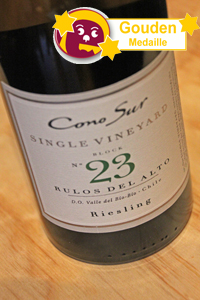 Cono Sur Single Vineyard Block no 23 Riesling 2012