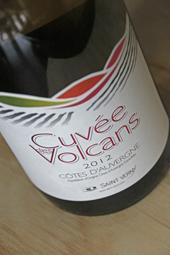 Cuvée des Volcans Blanc 2012