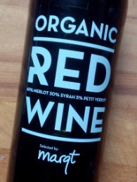 Huiswijn Marqt, Organic Red Wine, Spanje