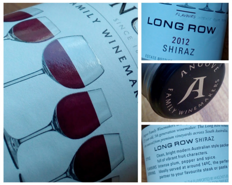 Angove 2012, Shiraz, Long row, Zuid Australië