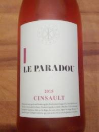Le Paradou 2015, Cinsault, Vin de France