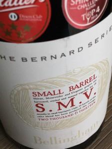 Bellingham Bernard Small Barrel S.M.V. 2013, Coastel Regoin, Zuid Afrika