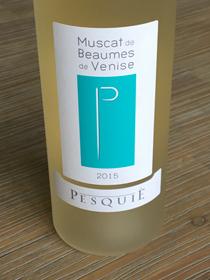 Chateau Pesquié Muscat de Beaumes de Venise 2015