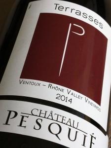 Chateau PesquiÉ Terrasses Rouge 2014, AOP Ventoux, Frankrijk