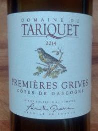 Domaine du Tariquet 2014, Premieres Grives, Cotes de Gascogne