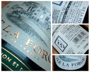 Ile la Forge 2015, Chardonnay, Pays d'Oc, Frankrijk