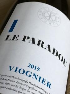 La Paradou Viognier 2015, Vin de France