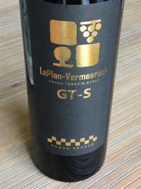 LePlan-Vermeersch GT-S 2014, Vin de France