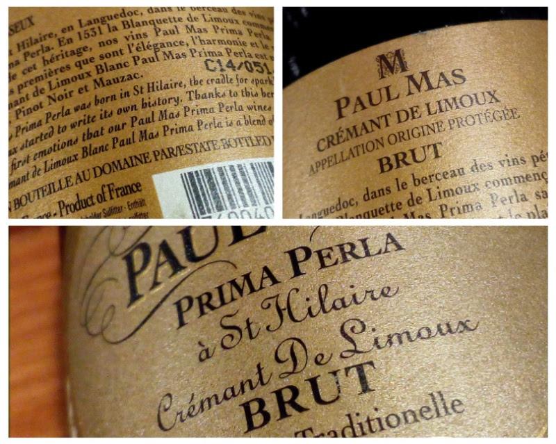 Paul Mas, Prima Perla, Cremant de Limoux, Brut, Frankrijk