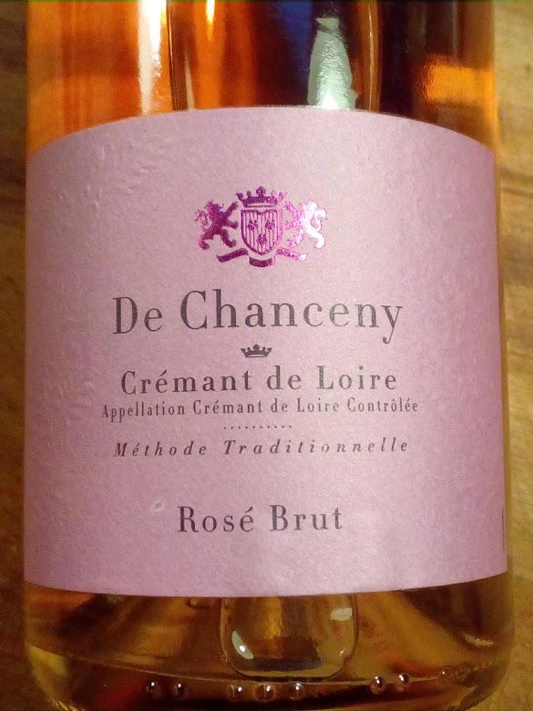 De Chanceny, Cremant de Loire, Rosé Brut, Frankrijk