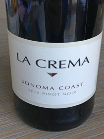 La Crema Pinot Noir 2012, Sonoma Coast, USA