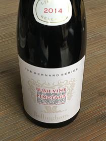 Bellingham Bush Vine Pinotage 2014, Coastel Regio, Zuid Afrika