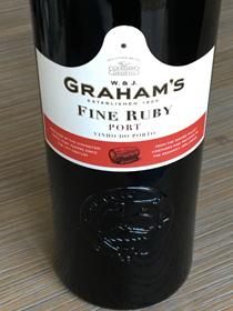 Graham's Fine Ruby Port, Porto, Portugal