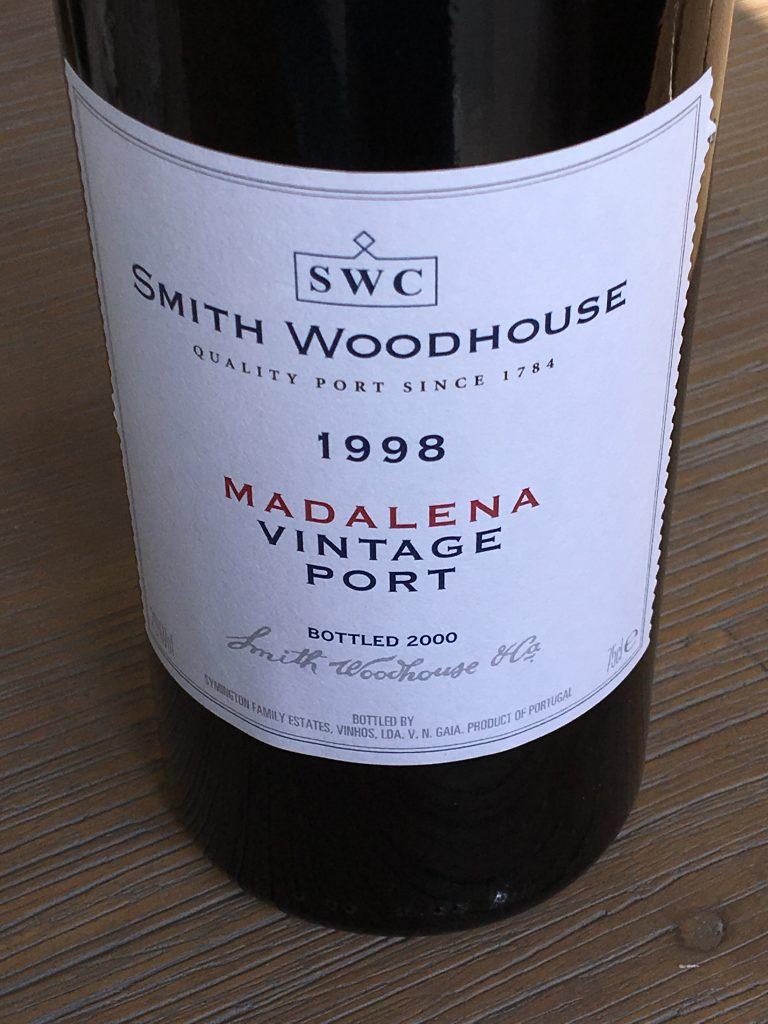 Smith Woodhouse Madalena 1998, Porto, Portugal