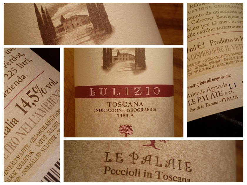 Bulizio 2011, Le Palaie, IGT Toscane, Italië