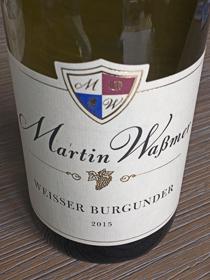 Martin Waßmer Weisser Burgunder 2015, Baden, Duitsland