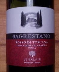 Sagrestano 2011, Rosso di Toscana, IGT, Italië