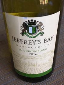 Jeffrey's Bay Sauvignon Blanc 2016, Malborough, Nieuw Zeeland