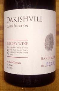 Dakishvili Red 2015, Family Selection, Georgië