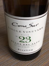 Cono Sur Single Vineyard Block no 23 Riesling 2015, DO Valle del Bio-Bio, Chili