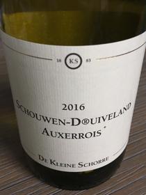 Schouwen-D®uiveland Auxerrois+ 2016, BGA Zeeland, Nederland
