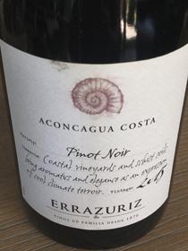Errazuriz Pinot Noir 2015, DO Valle de Aconcagua, Chili