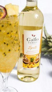 Gallo Spritz een hit deze zomer Pineapple & Passionfruit