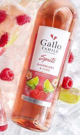Gallo Spritz een hit deze zomer Raspberry & Lime
