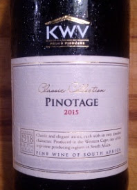 KWV Pinotage Classic Collection, 2015, Zuid Afrika