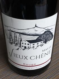 Mas le Vieux Chêne Rouge, Vin de France, Frankrijk