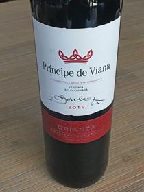 Principe de Viana Crianza 2012, DO Navarra, Spanje