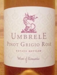 Umbrele Pinot Grigio Rosé, Roemenië, zonder jaar