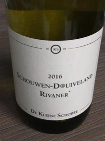 Schouwen-D®uiveland Rivaner+ 2016, BGA Zeeland, Nederland