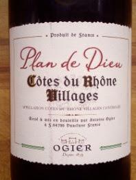 Ogier Plan de Dieu 2016, Côtes du Rhône Villages, Frankrijk
