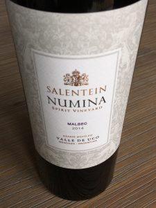 Salentein Numina Malbec 2014, Valle de Uco, Mendoza, Argentinië