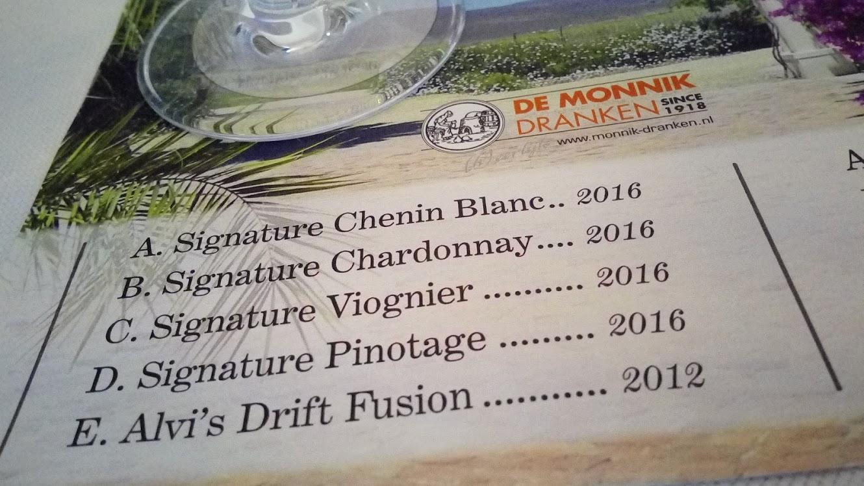 Alvi's Drift, van bulkwijn naar kwaliteitswijn tasting white wine