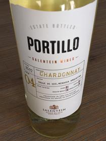 Portillo Chardonnay 2017, DO Valle de Uco, Mendoza, Argentinië