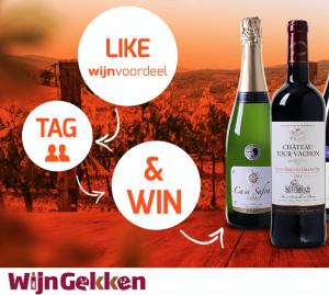 Win een Wijngekken wijnpakket bij Wijnvoordeel !