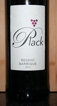 Wijngaard de Plack Regent Barrique