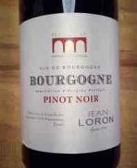 Jean Loron Bourgogne, Pinot Noir 2014, Frankrijk