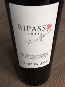Remo Farina Ripasso, DOC Valpolicella Ripasso, jaargang 2015, Italië