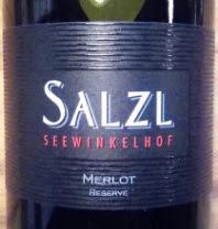 Salzl Merlot Reserve 2015, Burgenland Oostenrijk