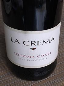 La Crema Pinot Noir 2013, Sonoma Coast, USA