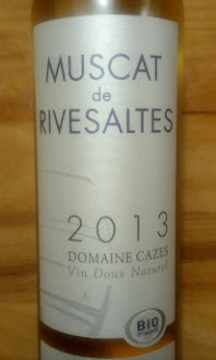 Muscat de Rivesaltes, Cazes 2013, Frankrijk